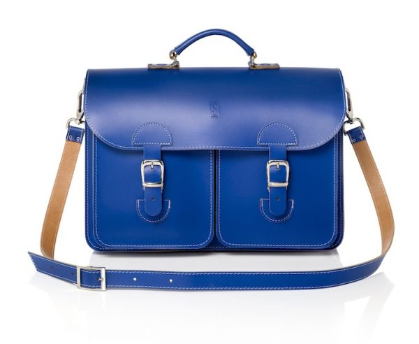 Leather shoulder bag by OldSchool Bags