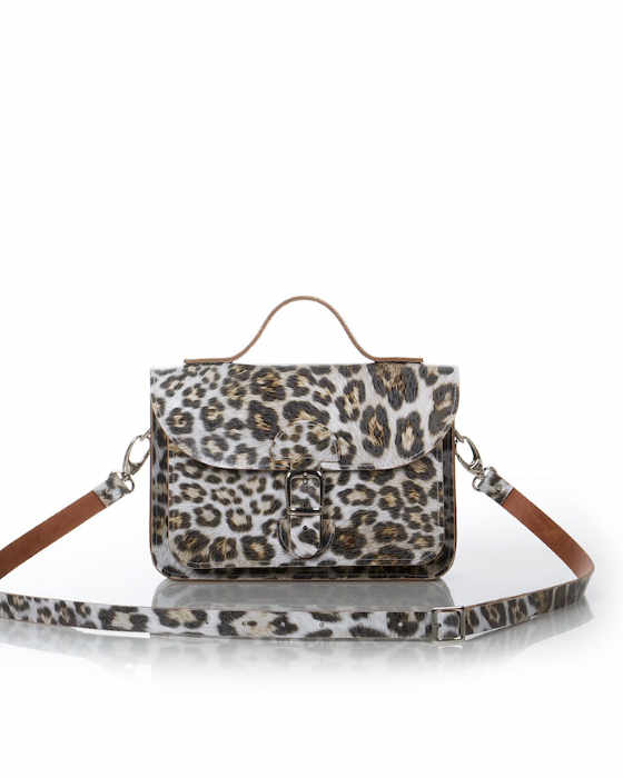Animal print schoudertas - OldSchool Bags