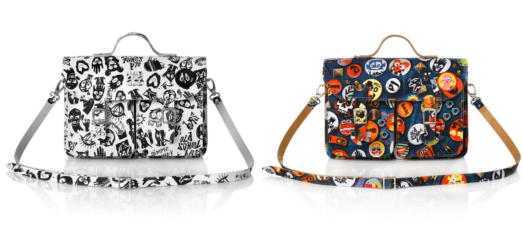 Bas Kosters satchels and shoulder bags