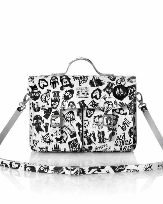 Bas Kosters satchel (model Dark Side)