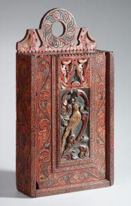 Friese schooltas uit Zuiderzeemuseum (gedateerd 1700 - 1800)