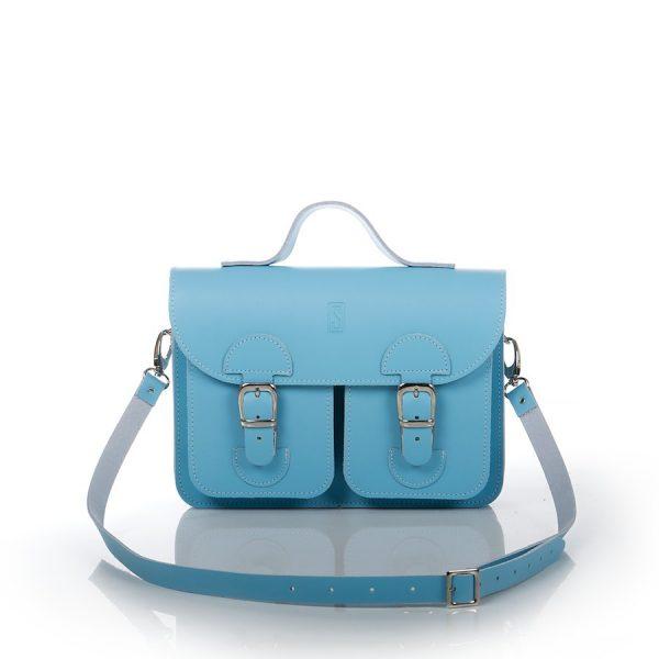 Handtas babyblauw