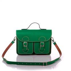Schoudertas groen - OldSchool Bags Small