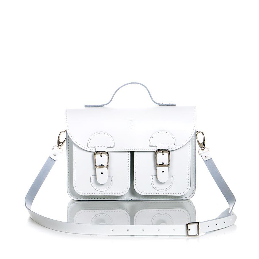 Handbag white (OldSchool Bags Small)