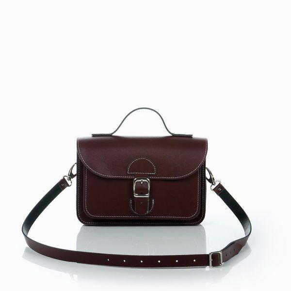 Handtas bordeauxrood - OldSchool Bags - XSmall