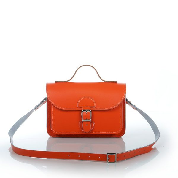 Handtas oranje - OldSchool Bags - XSmall