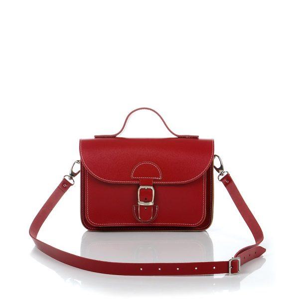 Handtas rood - OldSchool Bags - XSmall