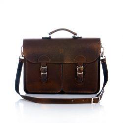 Briefcase bronze