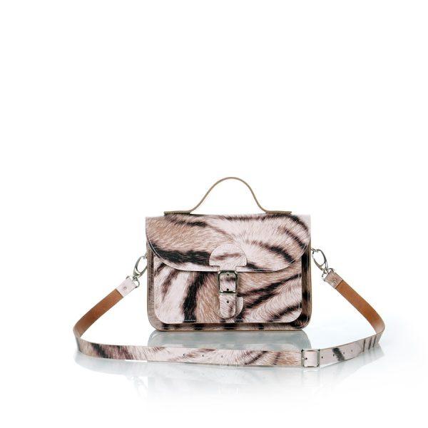 Minibag tiger print - OldSchool Bags XSmall