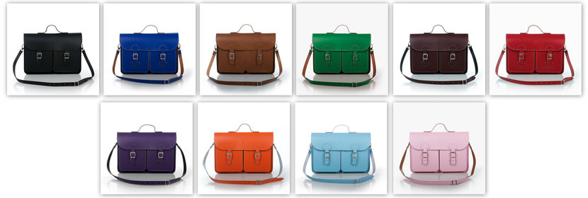 Satchels by OldSchoolBags (in 10 beautiful colours)