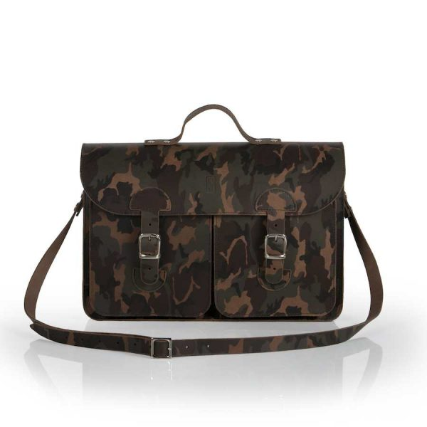 Schooltas camouflage