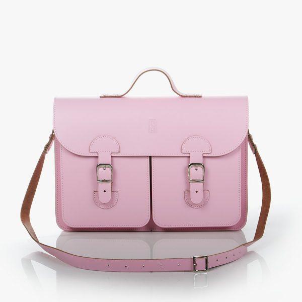 Schooltas roze - OldSchool Bags Large