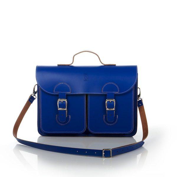 Schooltas blauw / kobaltblauw