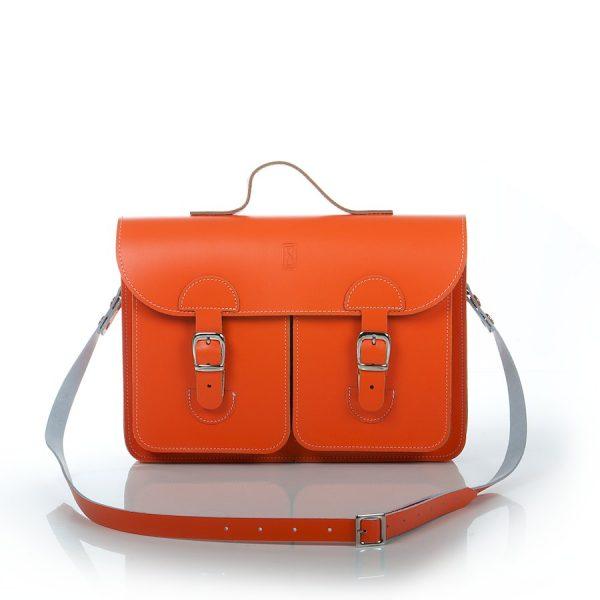 Schooltas oranje