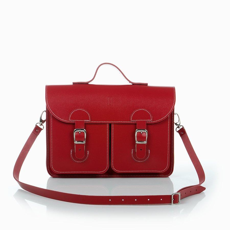 Leather Satchel Oldschool Bags Medium