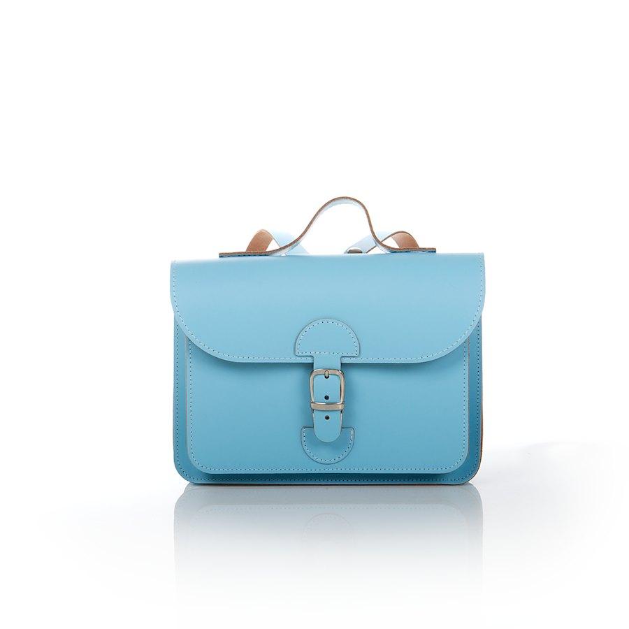 Babyblaue Rucksack für Schulkinder