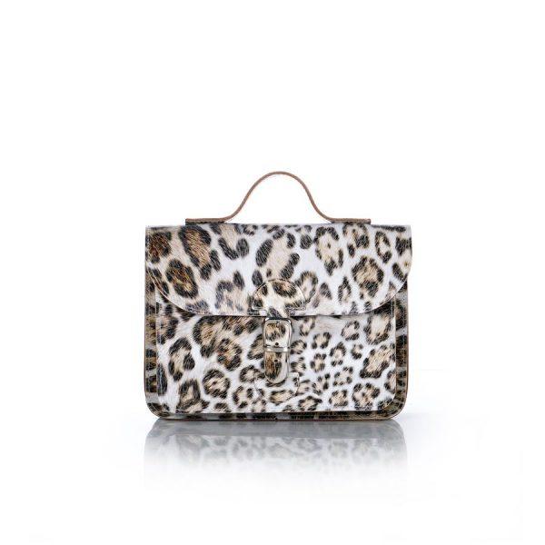Backpack leopard print