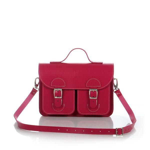 Handbag fuchsia