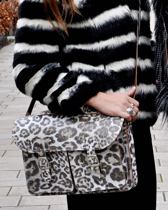 Tas met animal print