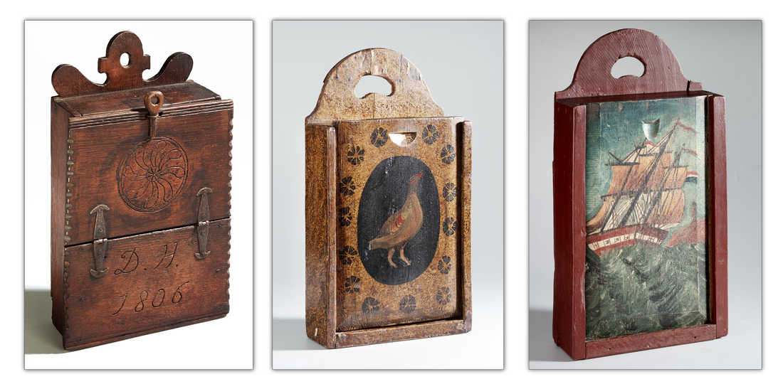 Old 'satchels' from the museum