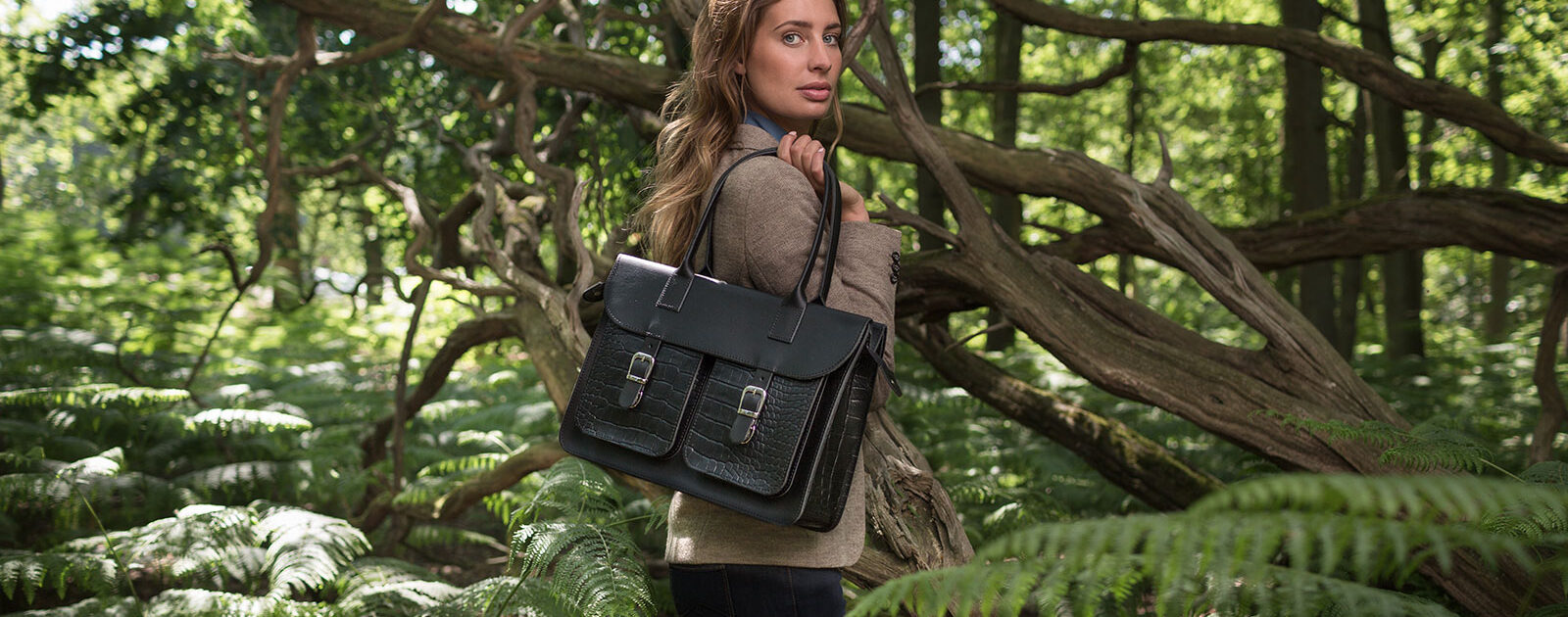 Satchel or briefcase? The Ivy is our latest addition