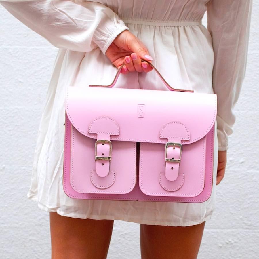 Handtas roze (OldSchool Bags Small)