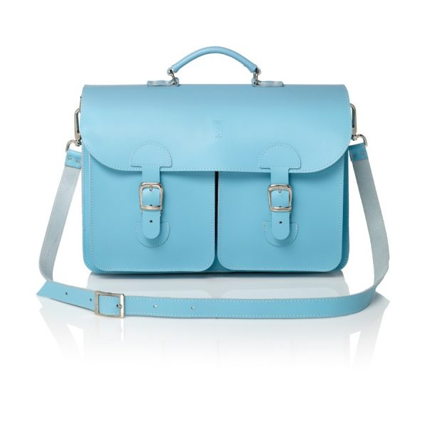 Satchel baby blue (OldSchool Bags XL)