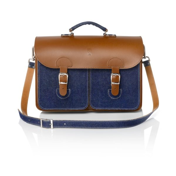 Satchel denim (OldSchool Bags XL)