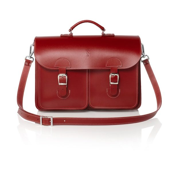 Satchel red (OldSchool Bags XL)