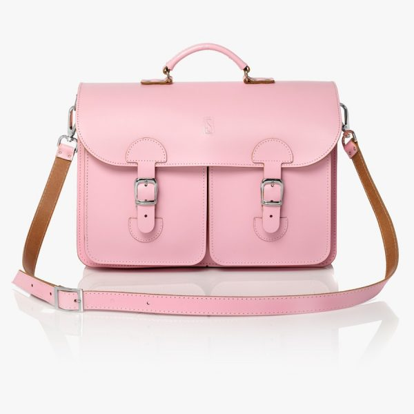 Satchel pink (OldSchool Bags XL)