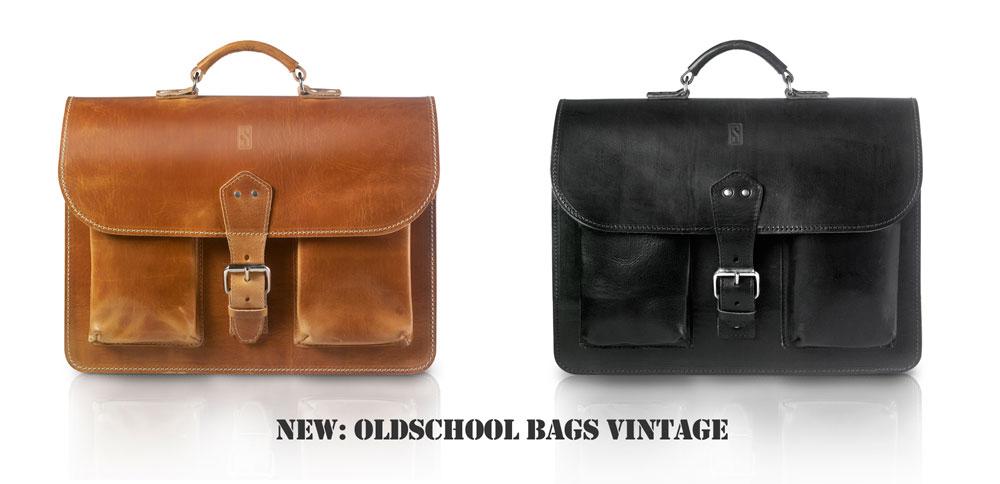 Vintage bags by OldSchool Bags