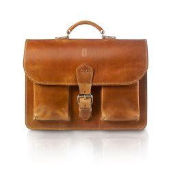 Vintage tas (bruin)