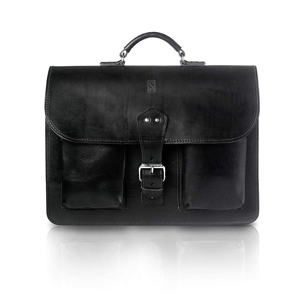 Vintage tas (zwart)