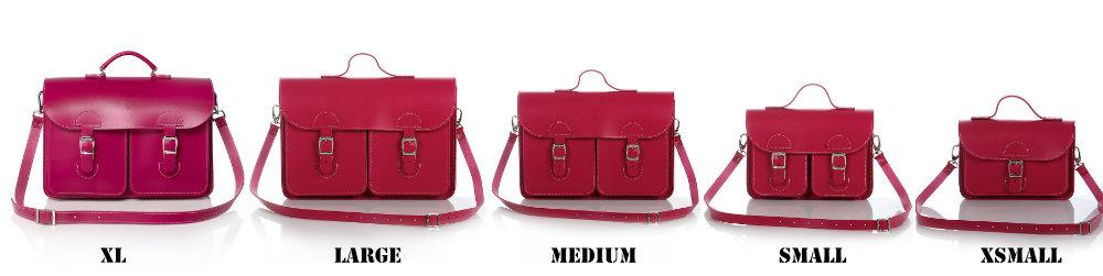 Fuchsia tas in vijf modellen (van opvallende schooltas tot trendy schoudertas)
