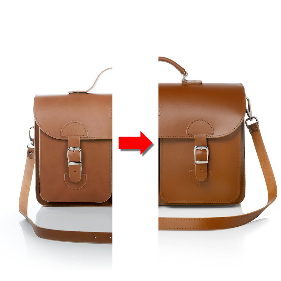 Omruilen tas (van Medium naar XL)