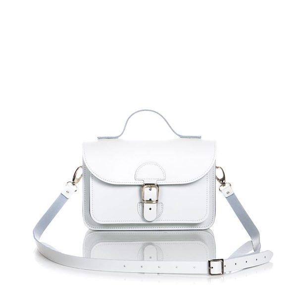 Witte schoudertas - OldSchool Bags XSmall