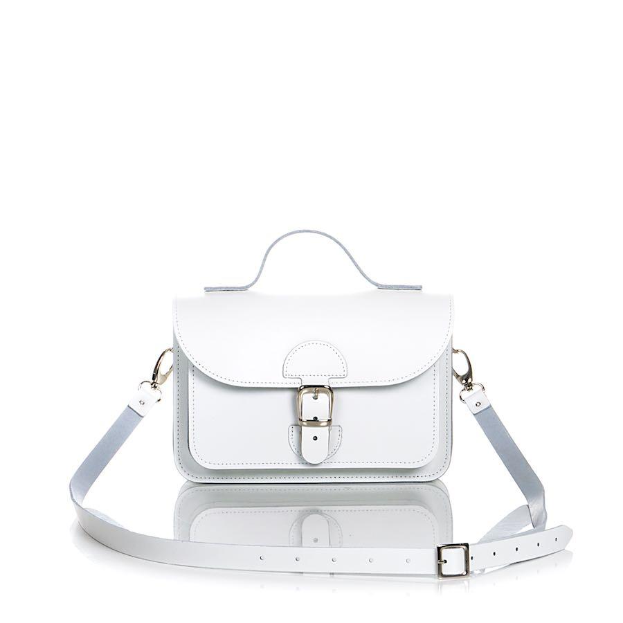 Minibag White - OldSchool Bags XSmall