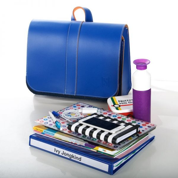 Cobalt blue backpack - what fits in it?