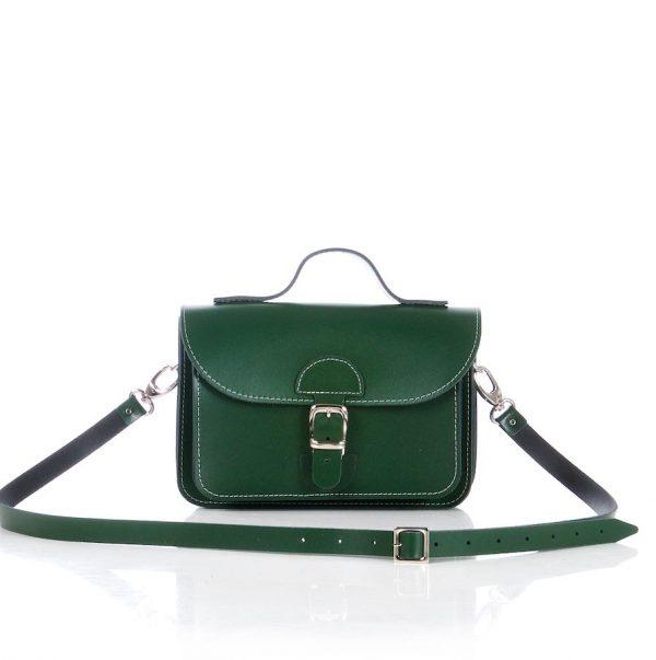 Handtasje groen (racing green)