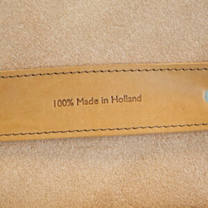 Leather satchel - 100% Made in the Netherlands