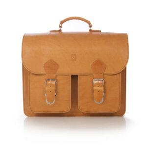Leather Satchel XL+