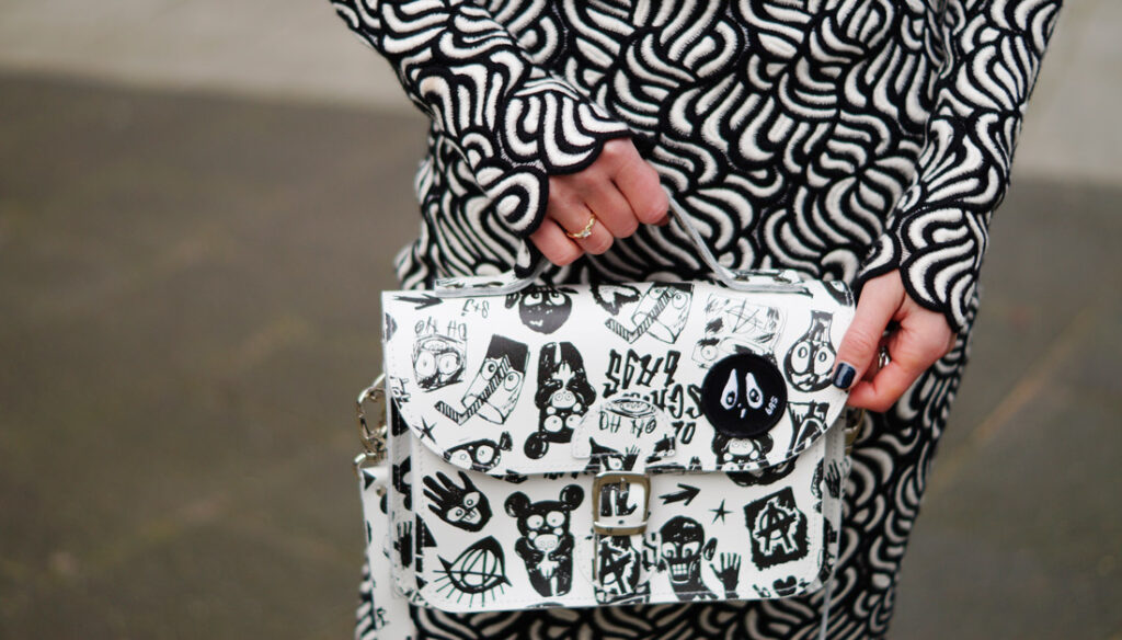 Speciale Bas Kosters tas voor OldSchool Bags (model 'Dark Side')